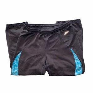 Brooks Women's Cropped Pants Athleisure XS